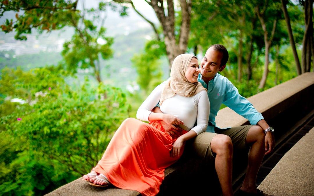 Thailand Phuket Engagement Session: Yasmine & Mohamed