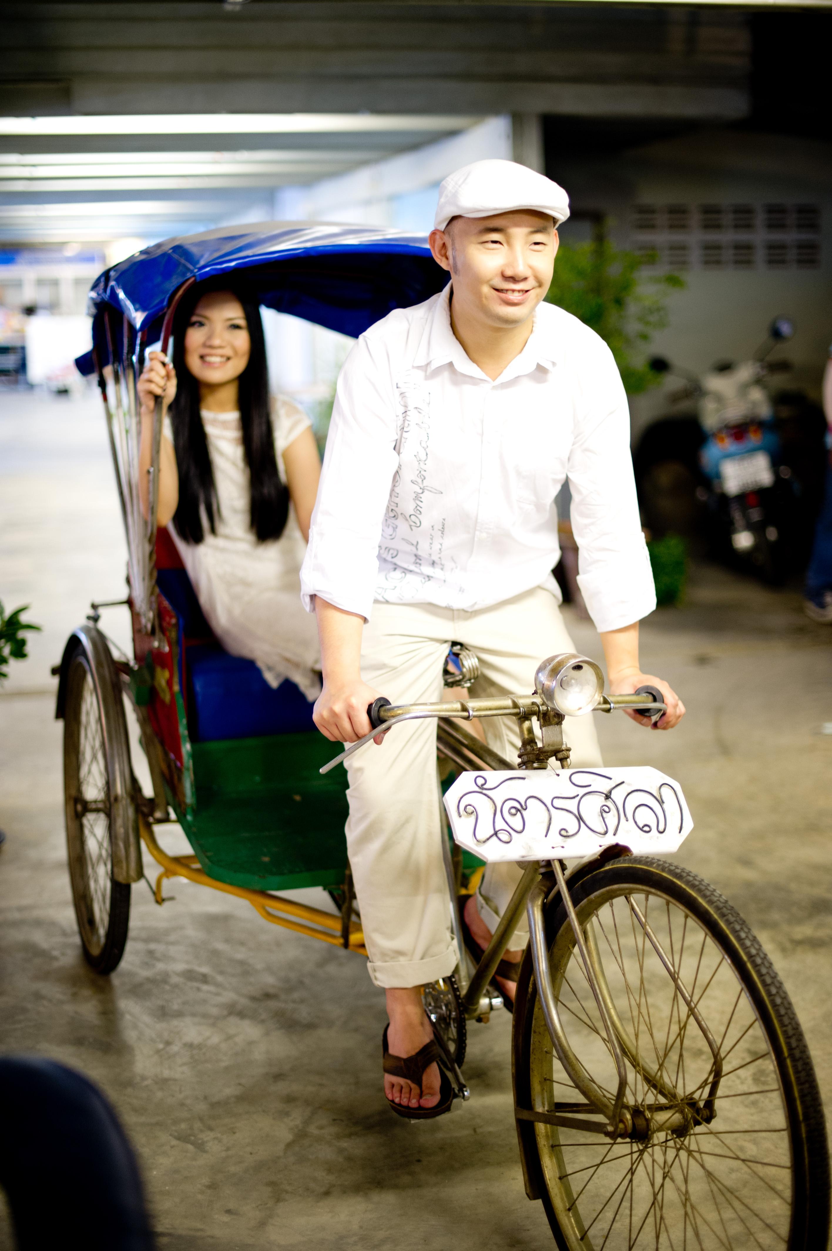 Pre-Wedding at Hua Hin Night Market, Thailand.