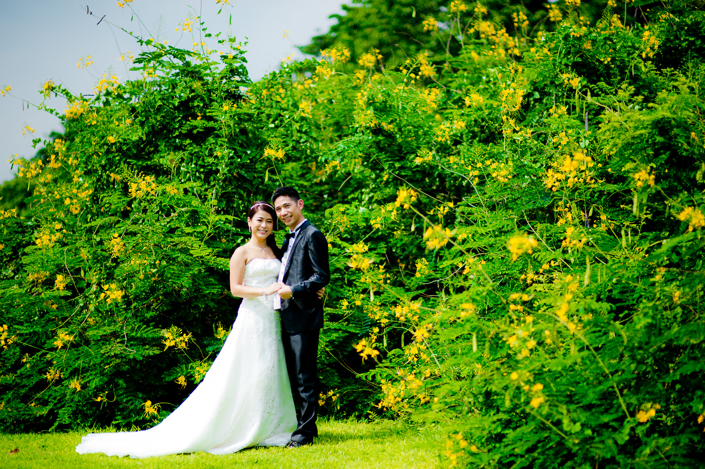 Thailand Wedding Photography: Preview: Pre-Wedding In Bangkok Public Park