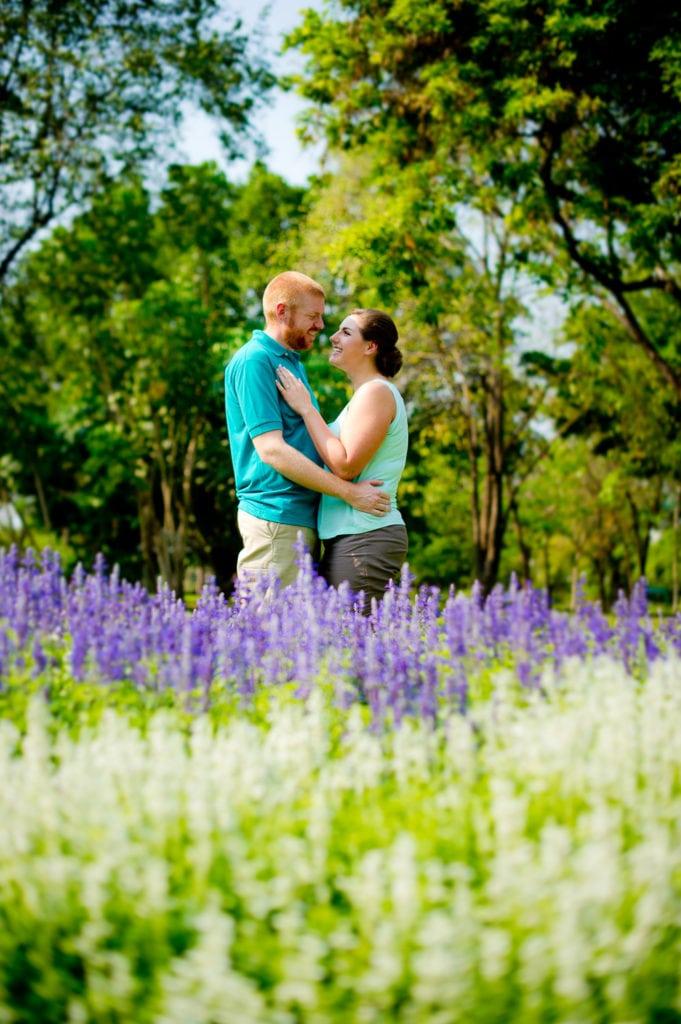 Rama 9 Park engagement session - Thailand Bangkok Wedding Photographer