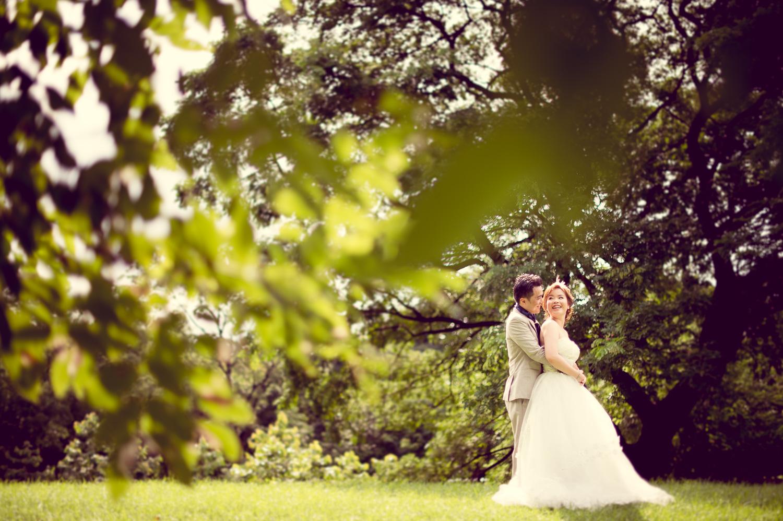 Thailand Wedding Photography: Preview: Pre-Wedding At Rod Fai Park In Bangkok Thailand
