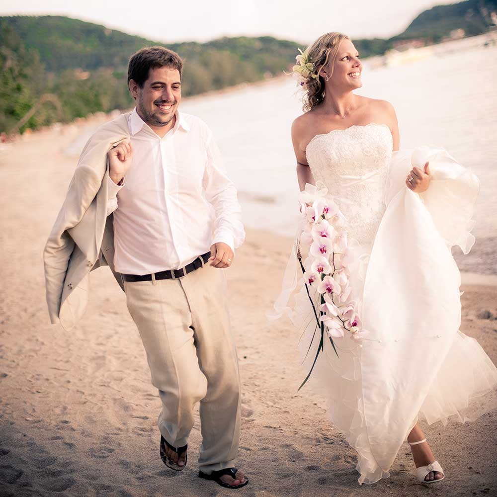 Testimonial - Faye & Adrian - Thailand Koh Tao Wedding