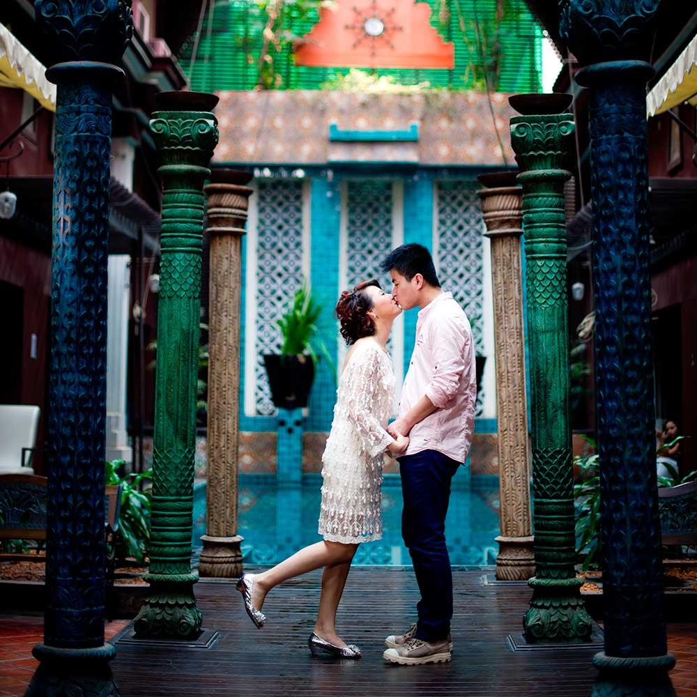 Testimonial - Lingzi & Haifeng - Wedding couple from China
