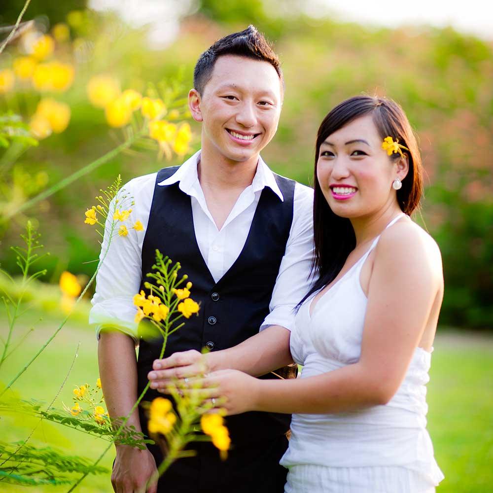 Testimonial - Maidoua & G - Wedding couple from United States