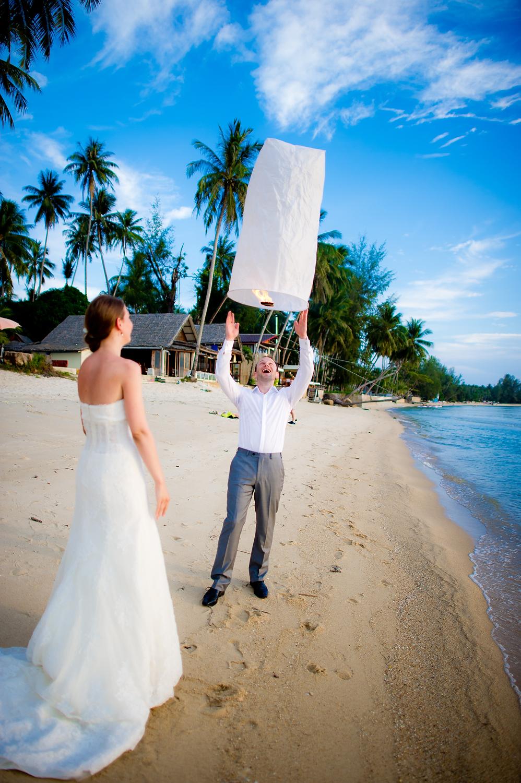 Lipa Lodge Resort Koh Samui Wedding - Yulia & David