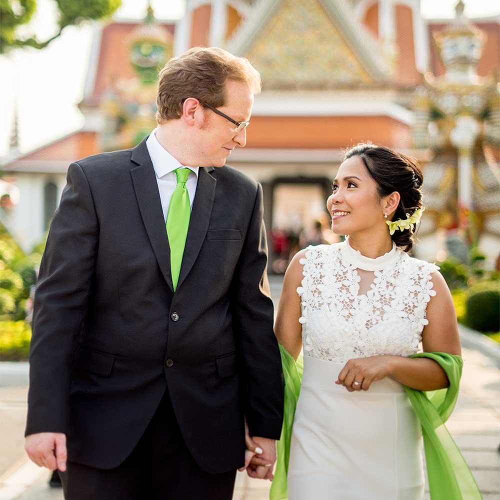 Testimonial - Tess & Paul - Wedding couple from United Kingdom