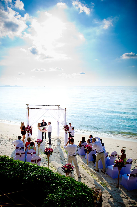 Samui Wedding Photographer - Destination wedding at Villa Baan Rattana Thep Samui