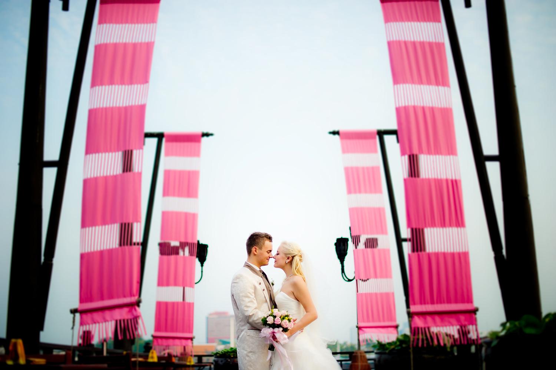 Anantara Riverside Bangkok Resort Wedding: Jasmine and Maurice from Germany