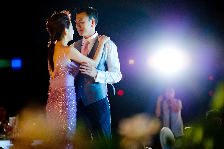 Destination wedding at InterContinental Samui Baan Taling Ngam Resort Koh Samui