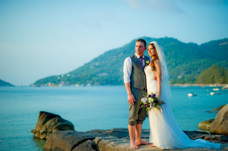 Koh Tao Simple Life Resort Wedding - Thailand Wedding Photographer