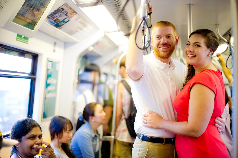 Bangkok Pre-Wedding | Siam BTS Skytrain Pre-Wedding