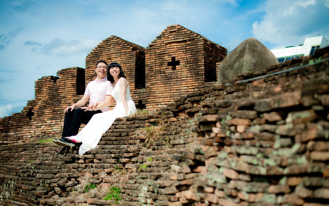 Thailand Chiang Mai Pre-Wedding: Mini and Treey