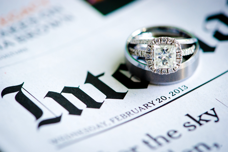 Wedding Rings Close-Up | Phuket Thailand