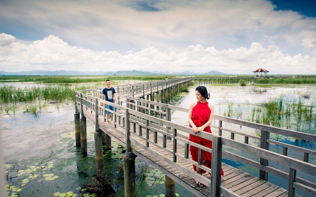 Hua Hin Beach & Khao Sam Roi Yot National Park Pre-Wedding Photography