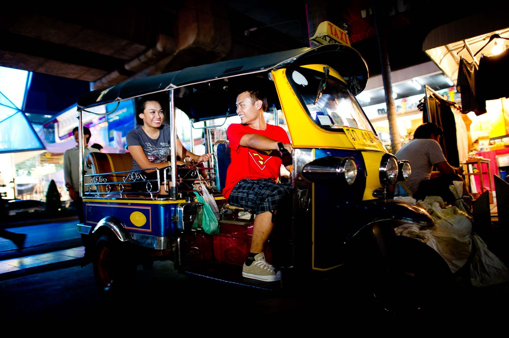 Pre-Wedding photo shoot in Bangkok Thailand