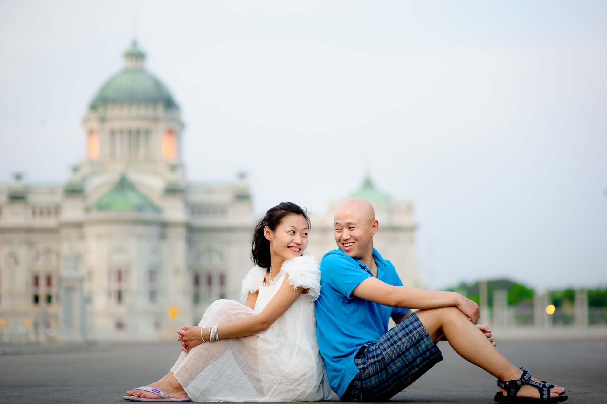 Thailand Bangkok Anantasamakhom Throne Hall Wedding Photography | NET-Photography Thailand Wedding Photographer