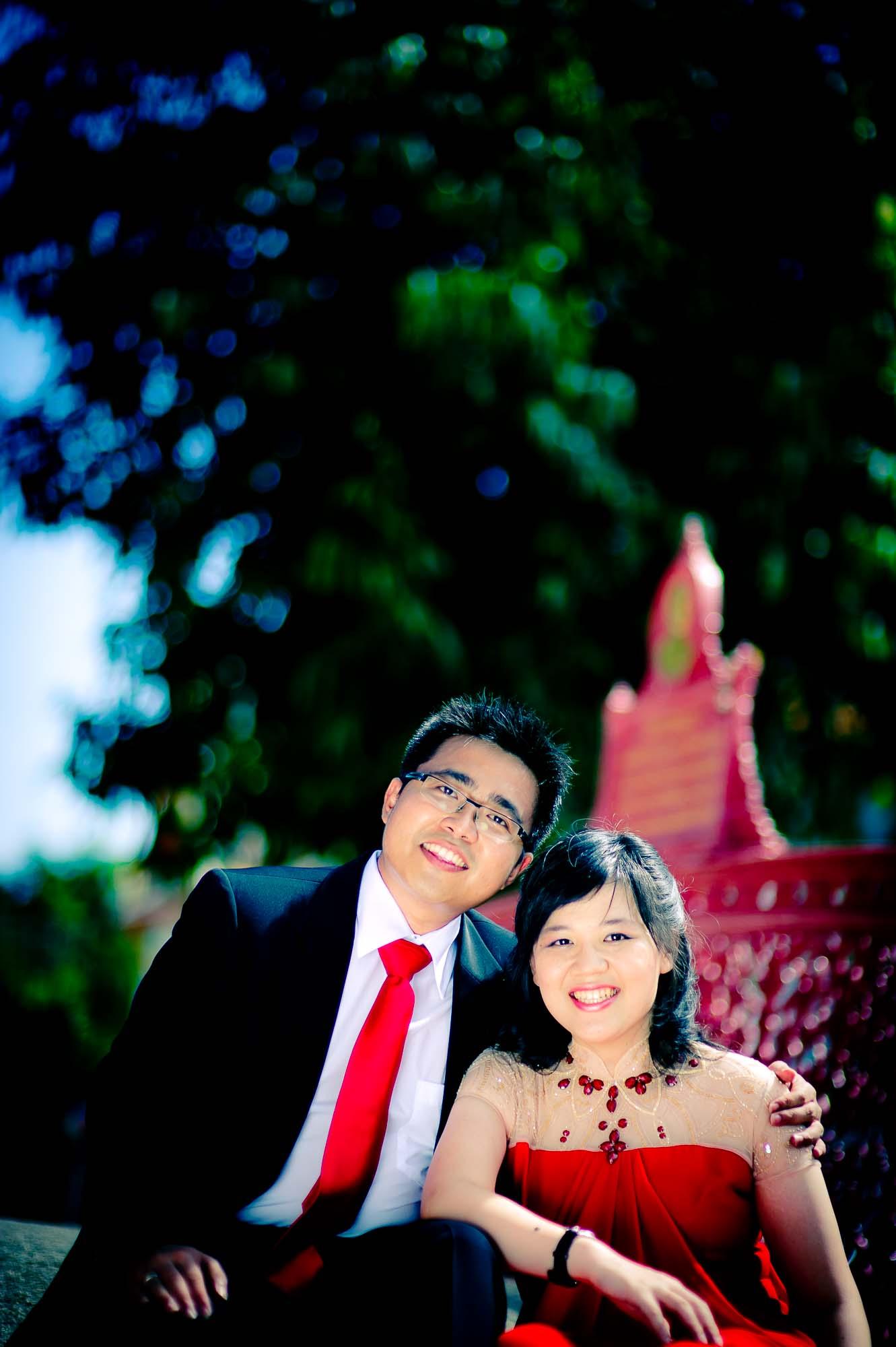 Thailand Bangkok Marble Temple (Wat Benchamabophit) Wedding Photography | NET-Photography Thailand Wedding Photographer