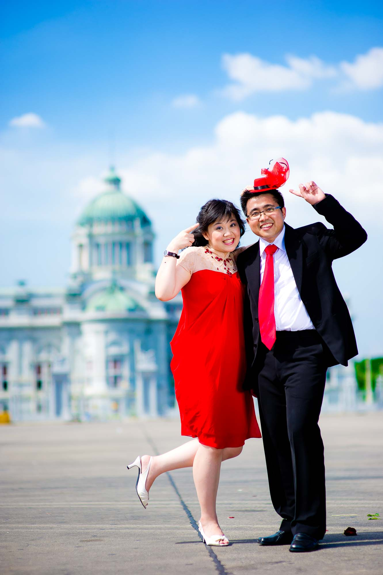 Thailand Bangkok Ananta Samakhom Throne Hall Wedding Photography | NET-Photography