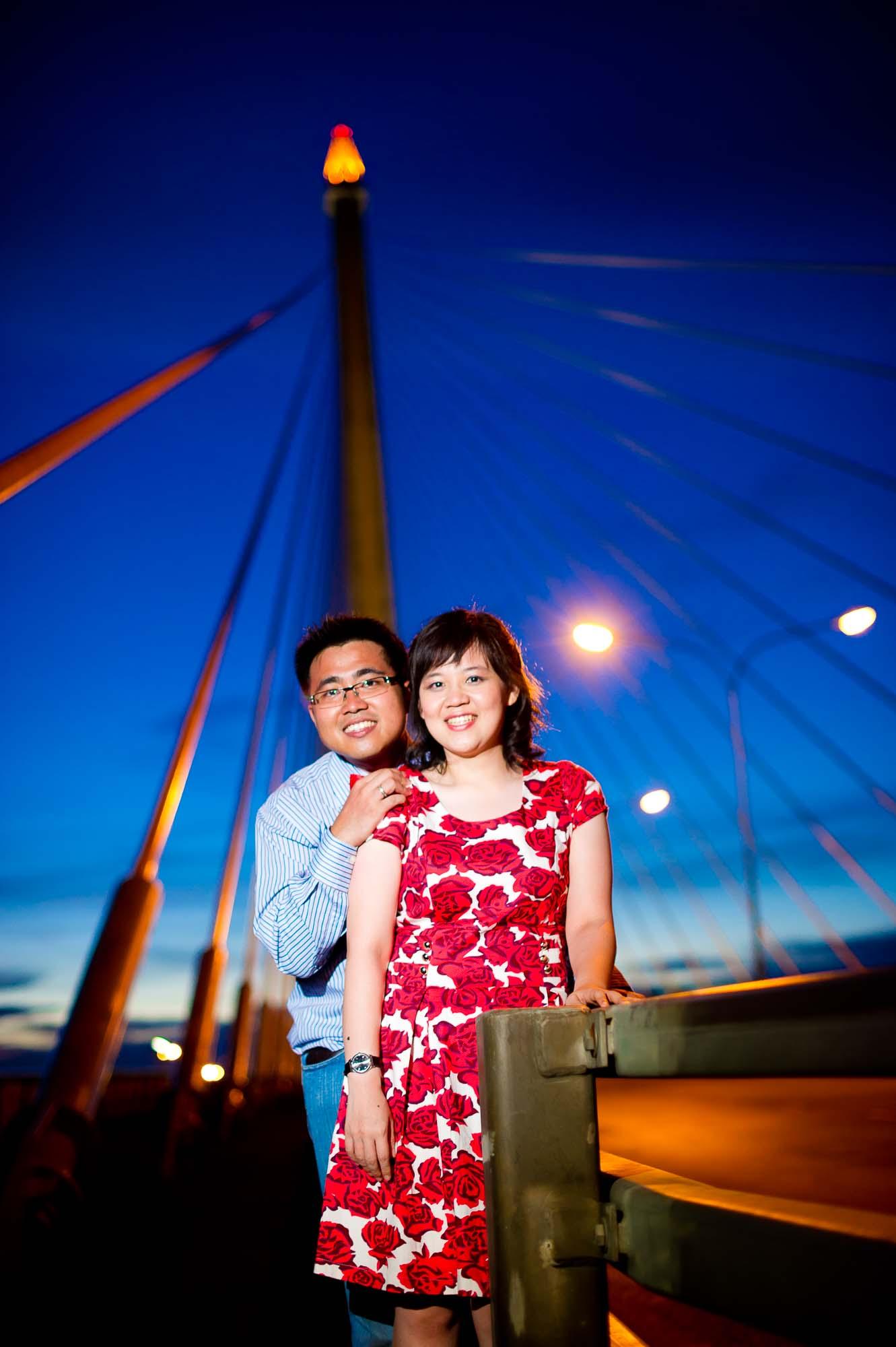 Thailand Bangkok Rama VIII Suspension Bridge Wedding Photography | NET-Photography Thailand Wedding Photographer