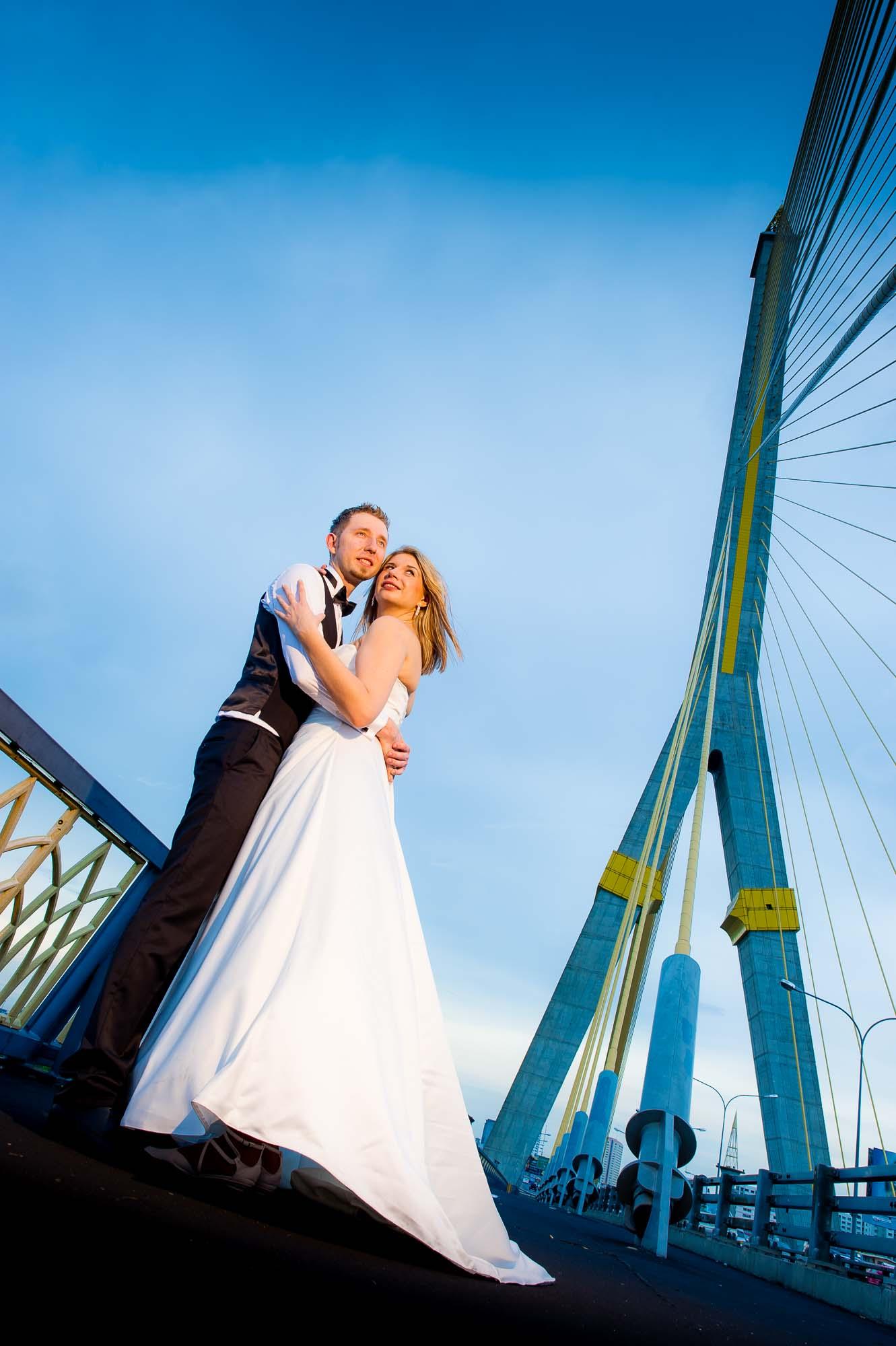 Thailand Bangkok Rama VIII Bridge Wedding Photography   NET-Photography Thailand Wedding Photographer