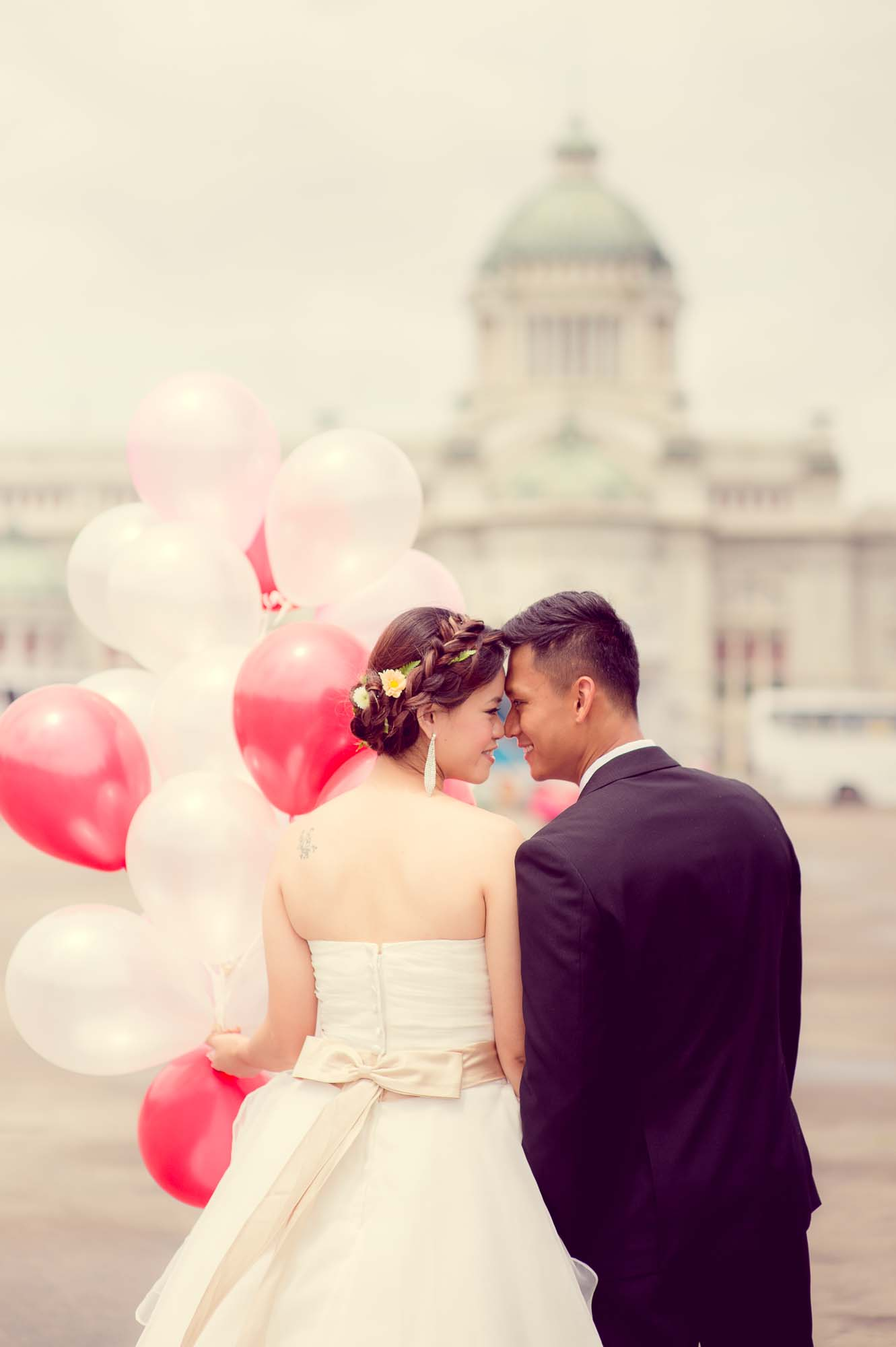 Ananta Samakhom Throne Hall Bangkok Thailand Pre-Wedding Photography