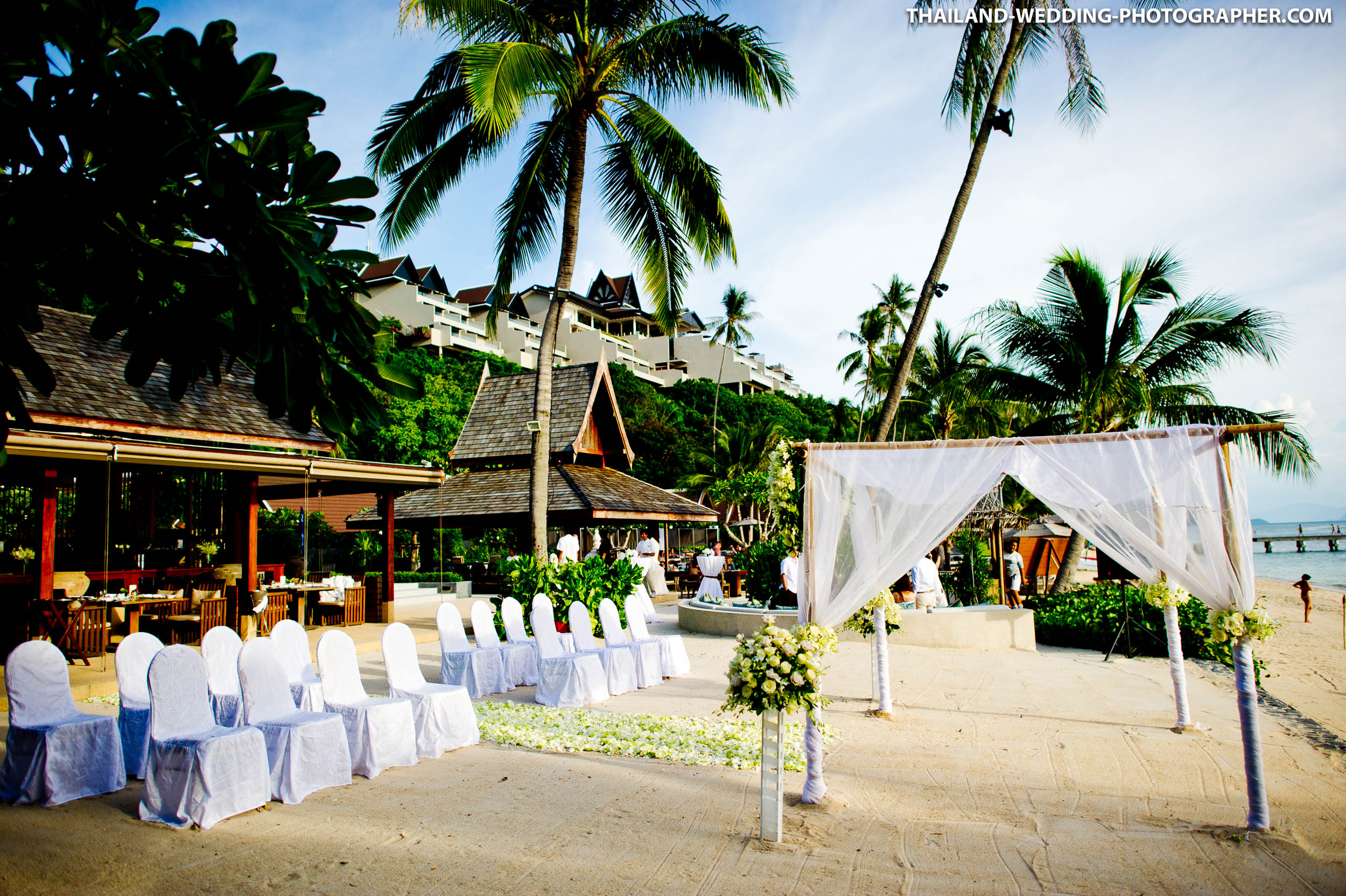 InterContinental Samui Baan Taling Ngam Resort Thailand Wedding Photography