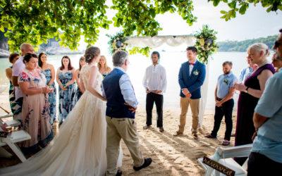 Preview: Freedom Beach Koh Tao Wedding