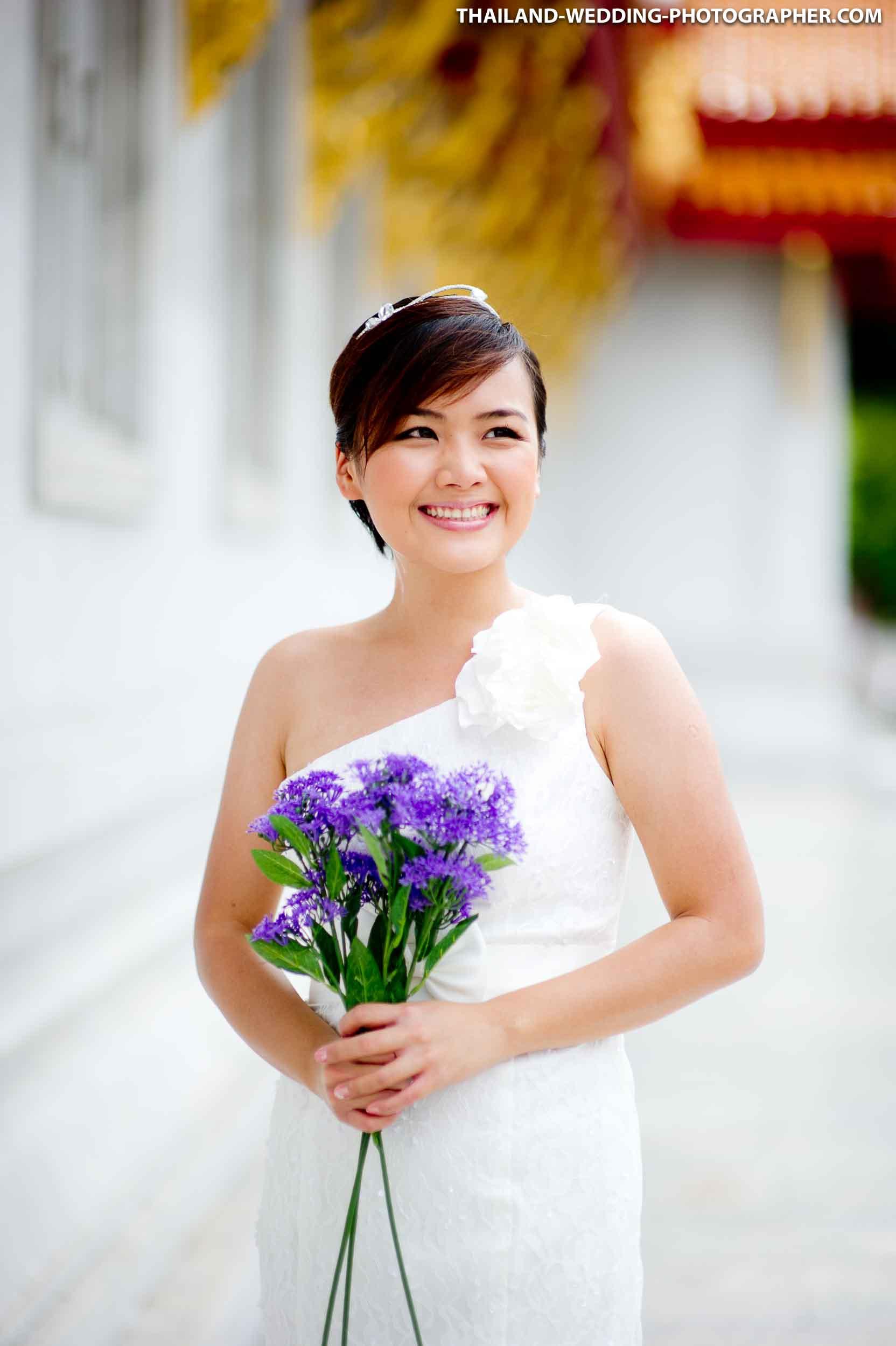 Marble Temple Bangkok Thailand Pre-Wedding
