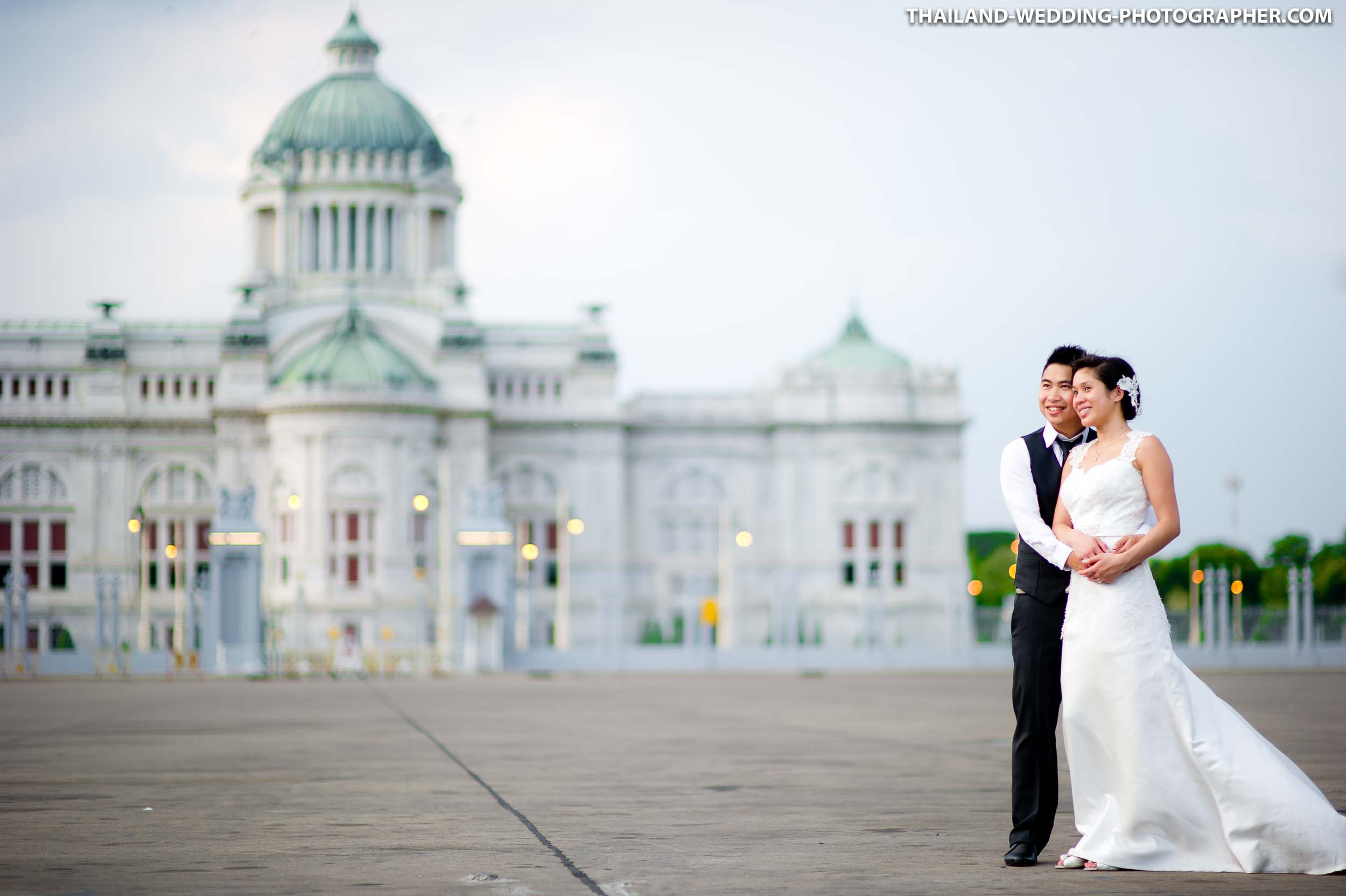 Thailand Bangkok Ananta Samakhom Throne Hall Honeymoon Session