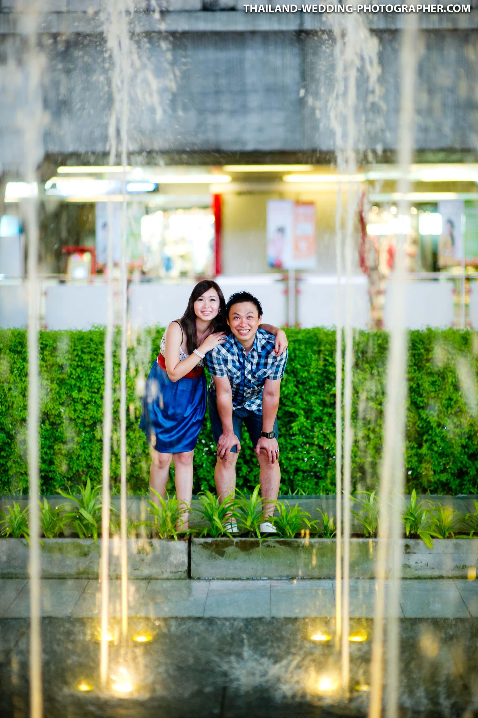 Thailand Bangkok Siam Paragon Engagement Session