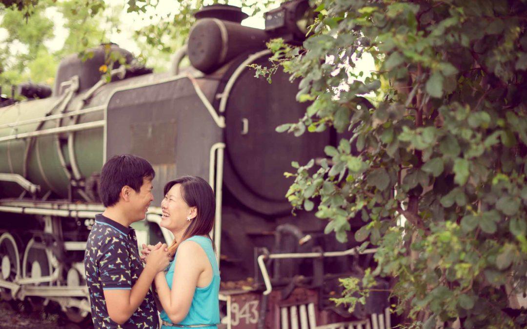 Bangkok Prenuptial of couple from Singapore