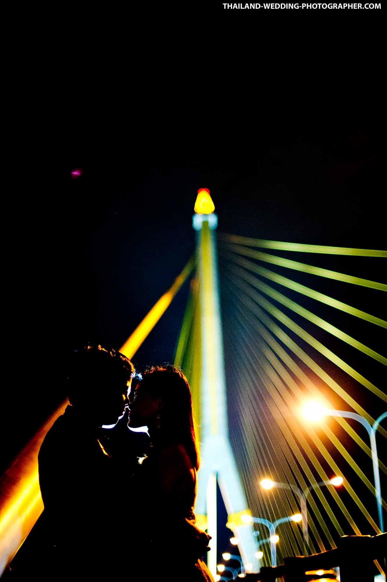 Thailand Bangkok Rama VIII Suspension Bridge Wedding Photography   NET-Photography Thailand Wedding Photographer