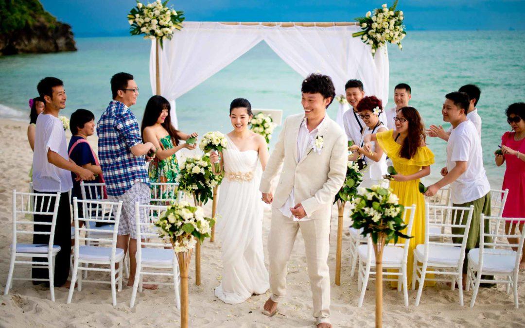 Dhevatara Cove (Baan Samlarn, Baan Rattana Thep Samui) Wedding