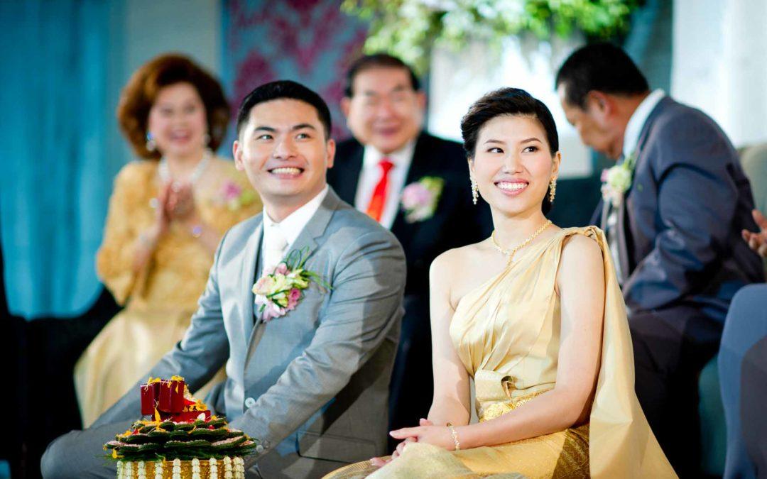 Thai Engagement Ceremony at The St. Regis Bangkok