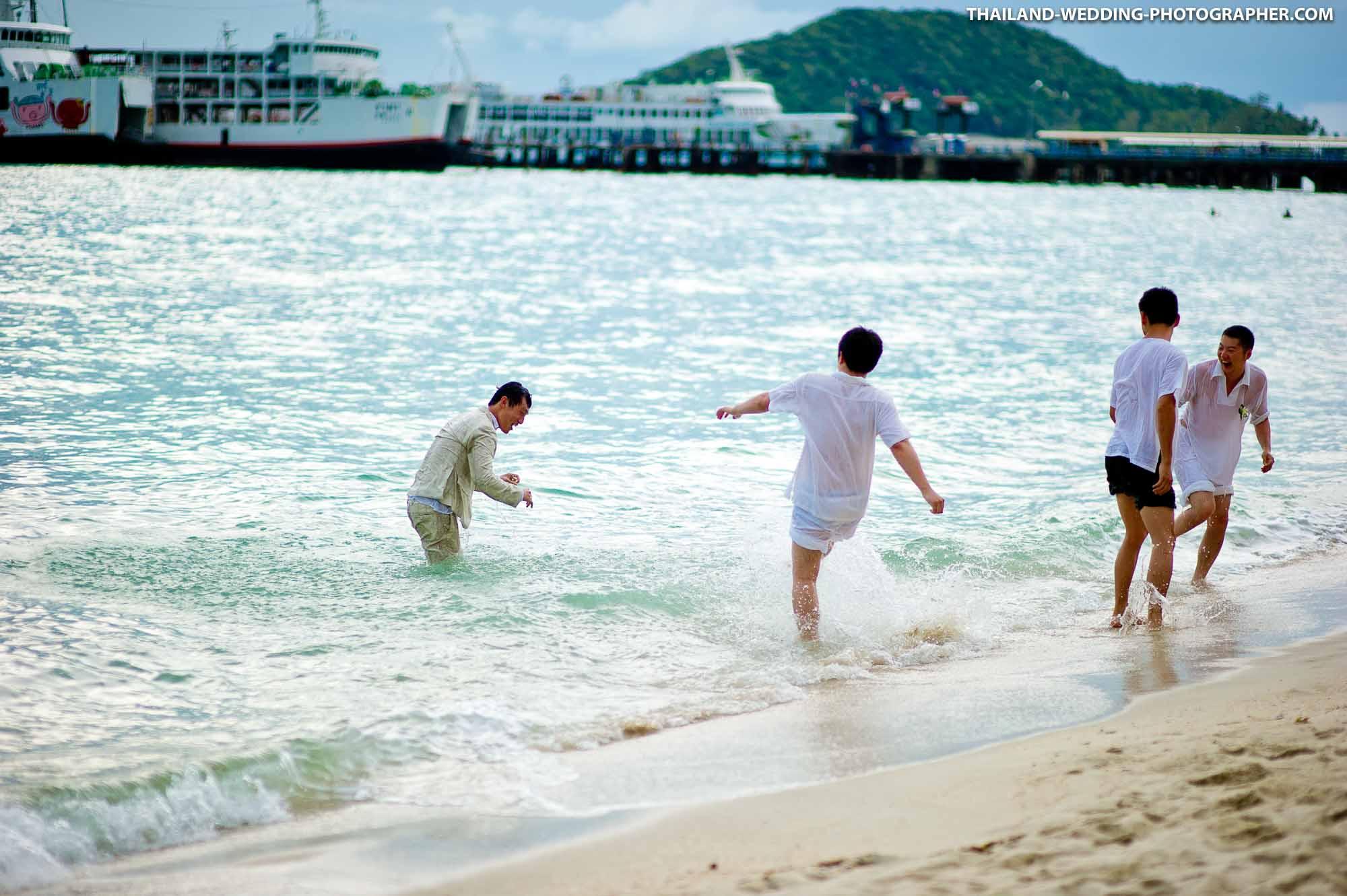Dhevatara Cove (Baan Samlarn, Baan Rattana Thep Samui) Koh Samui Thailand Wedding Photography