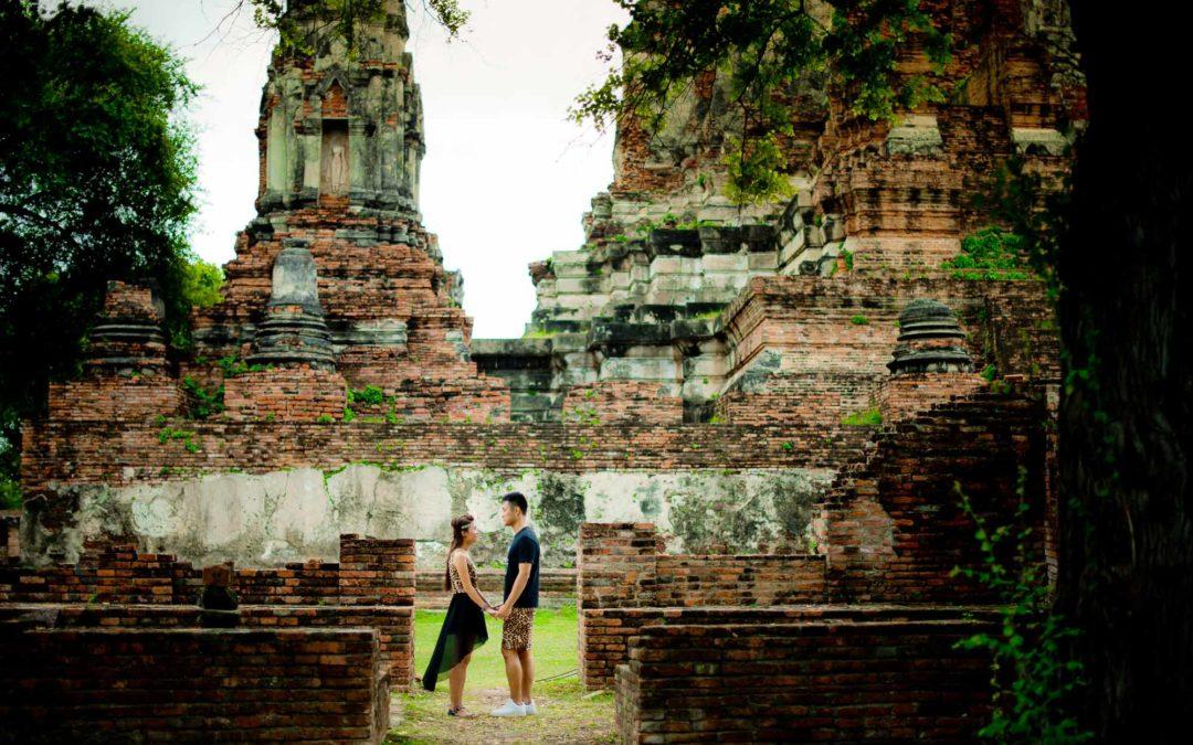 Ayutthaya Pre-Wedding of Erica & Raymond