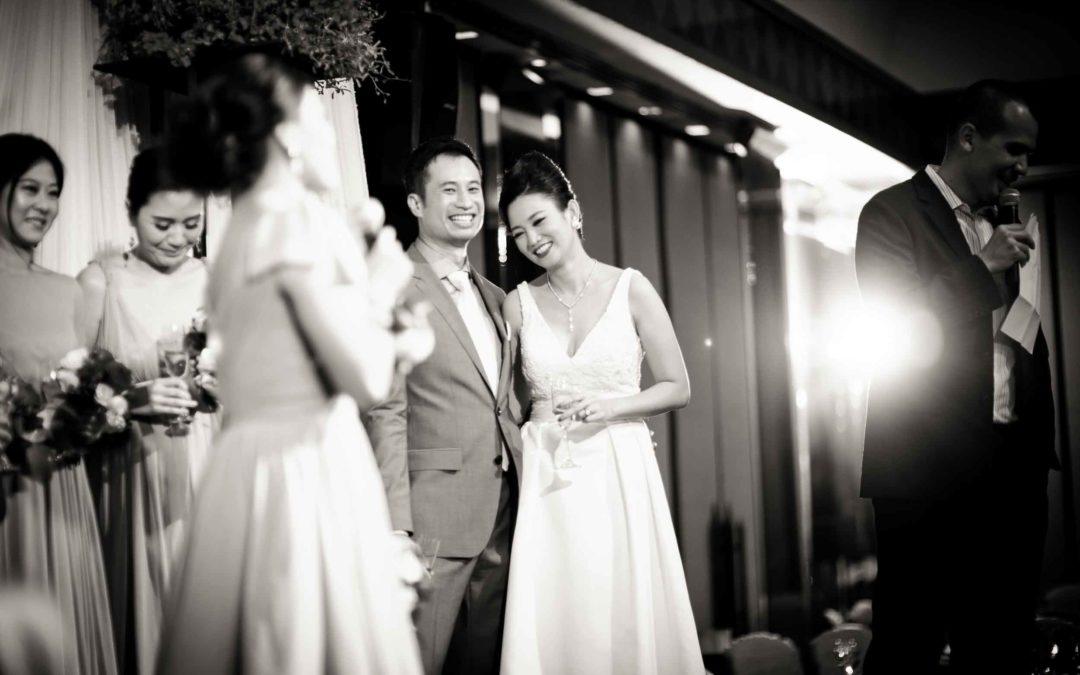 Thai wedding reception at The Sukhothai Bangkok