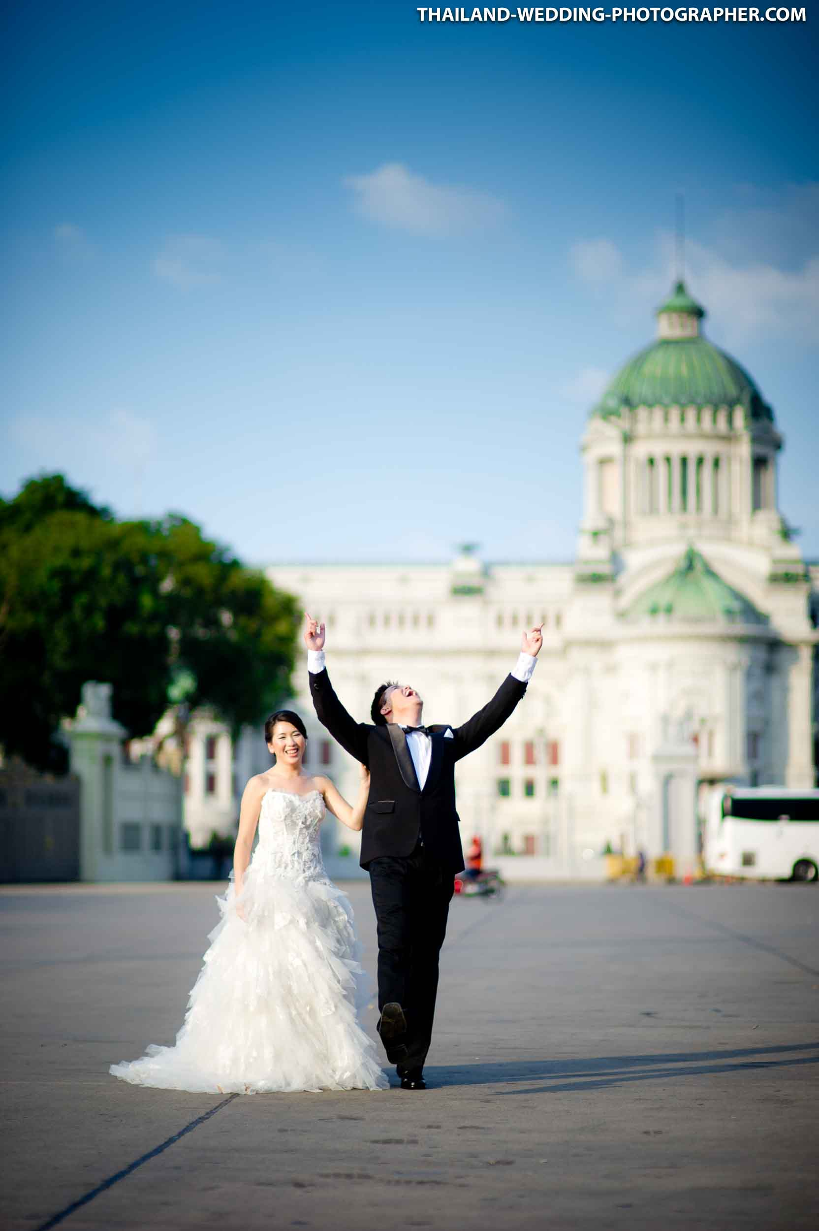 Ananta Samakhom Throne Hall Bangkok Thailand Wedding Photography