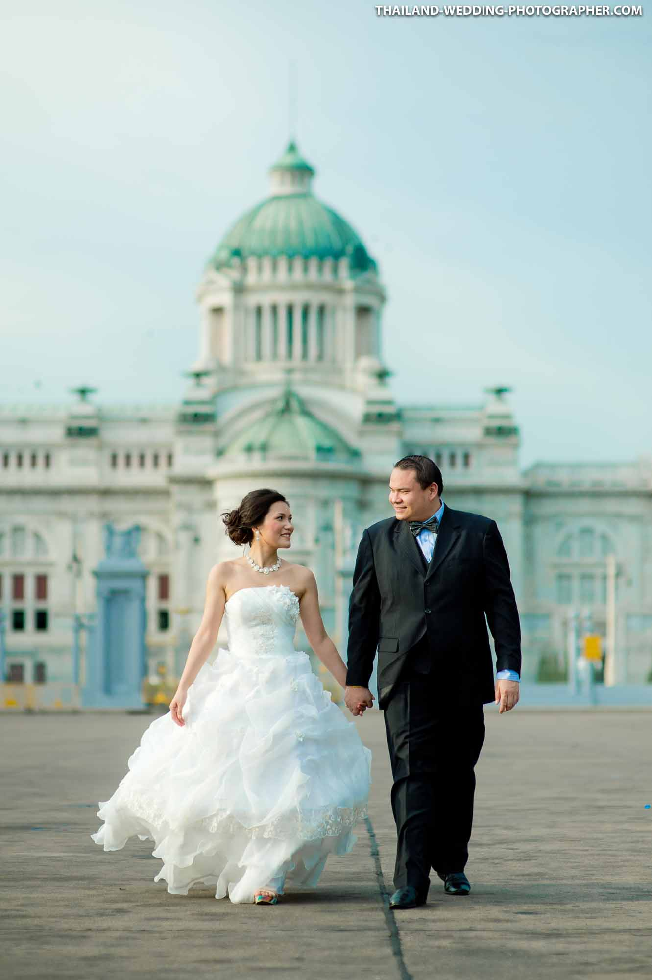 Ananta Samakhom Throne Hall Bangkok Wedding Photography