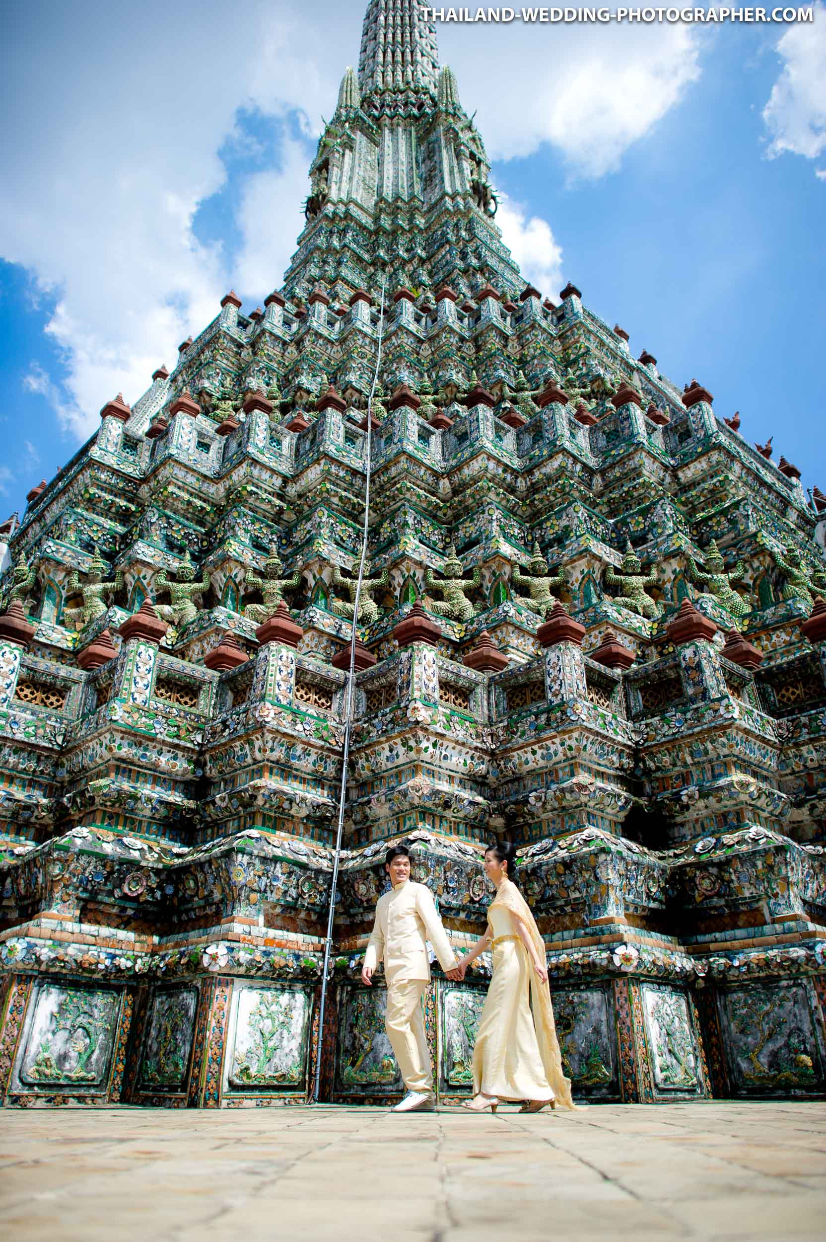 Wat Arun Bangkok Wedding Photography