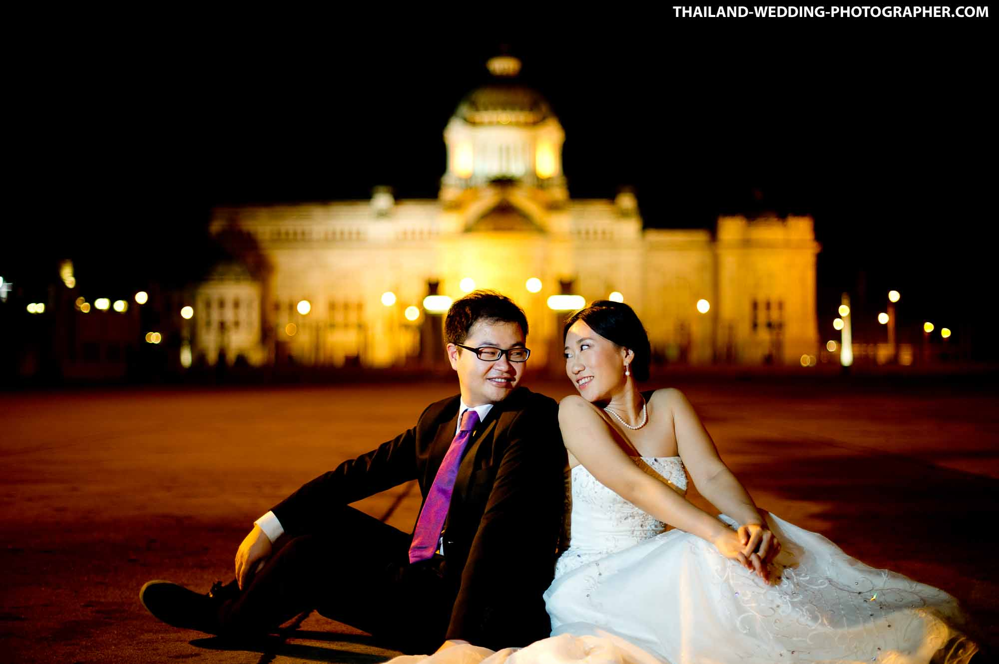 Ananta Samakhom Throne Hall Bangkok Thailand Prenuptial Photography