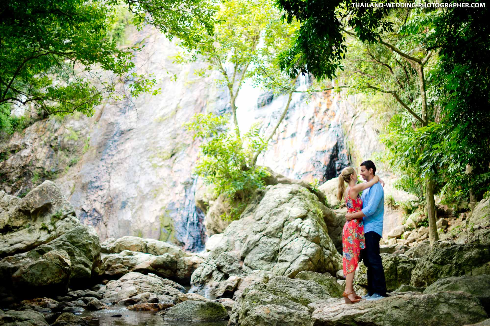 Lamai Waterfall Koh Samui Wedding Photography