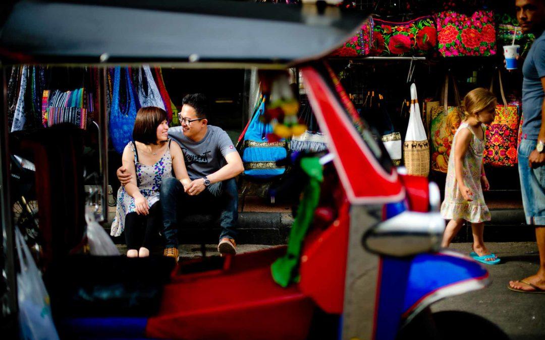Bangkok Honeymoon Session of Hong Kong couple