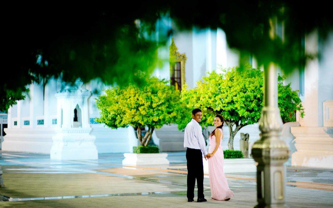 Bangkok Pre-Wedding of couple from Malaysia