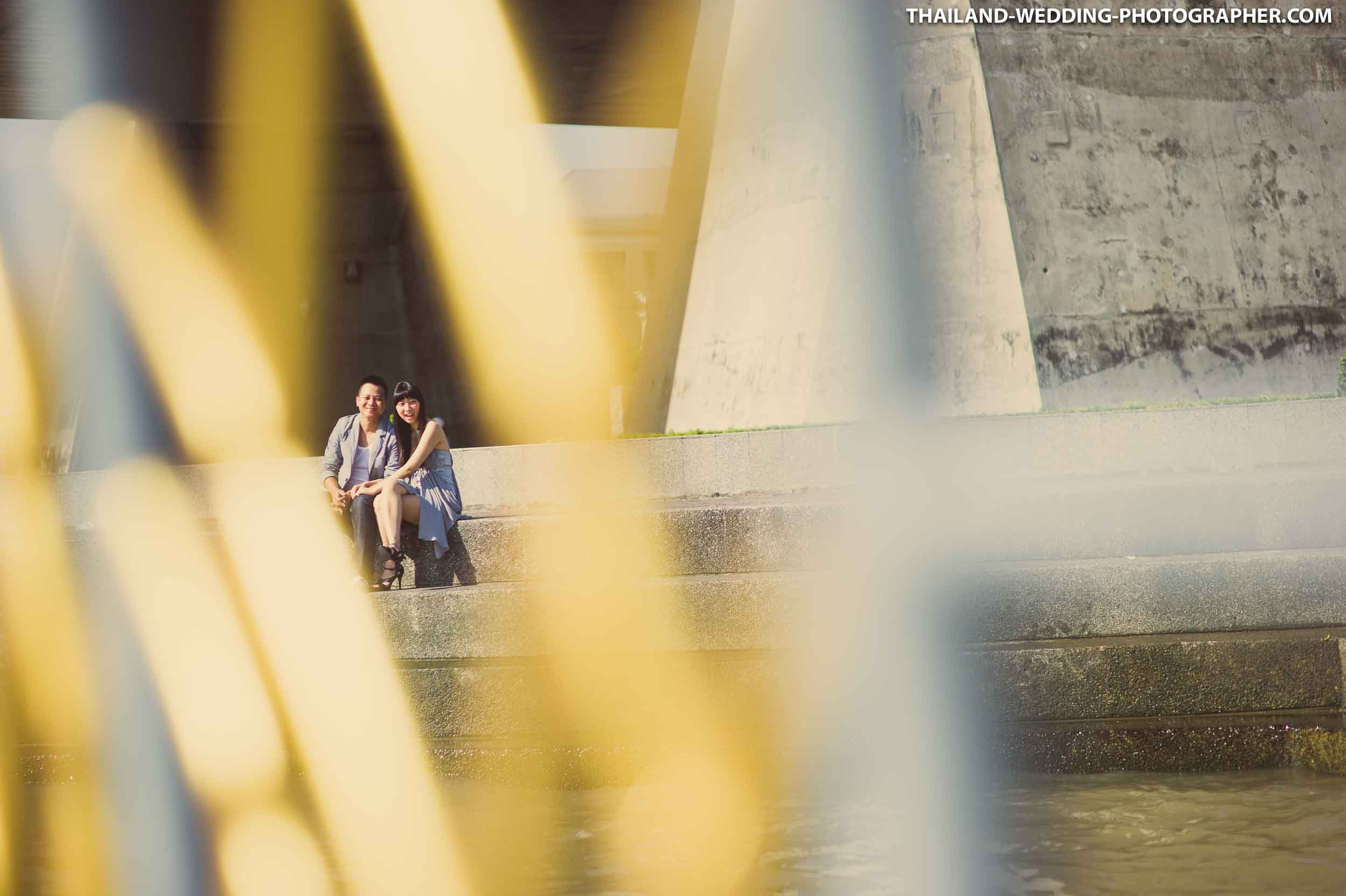 Rama VIII Bridge Bangkok Wedding Photography