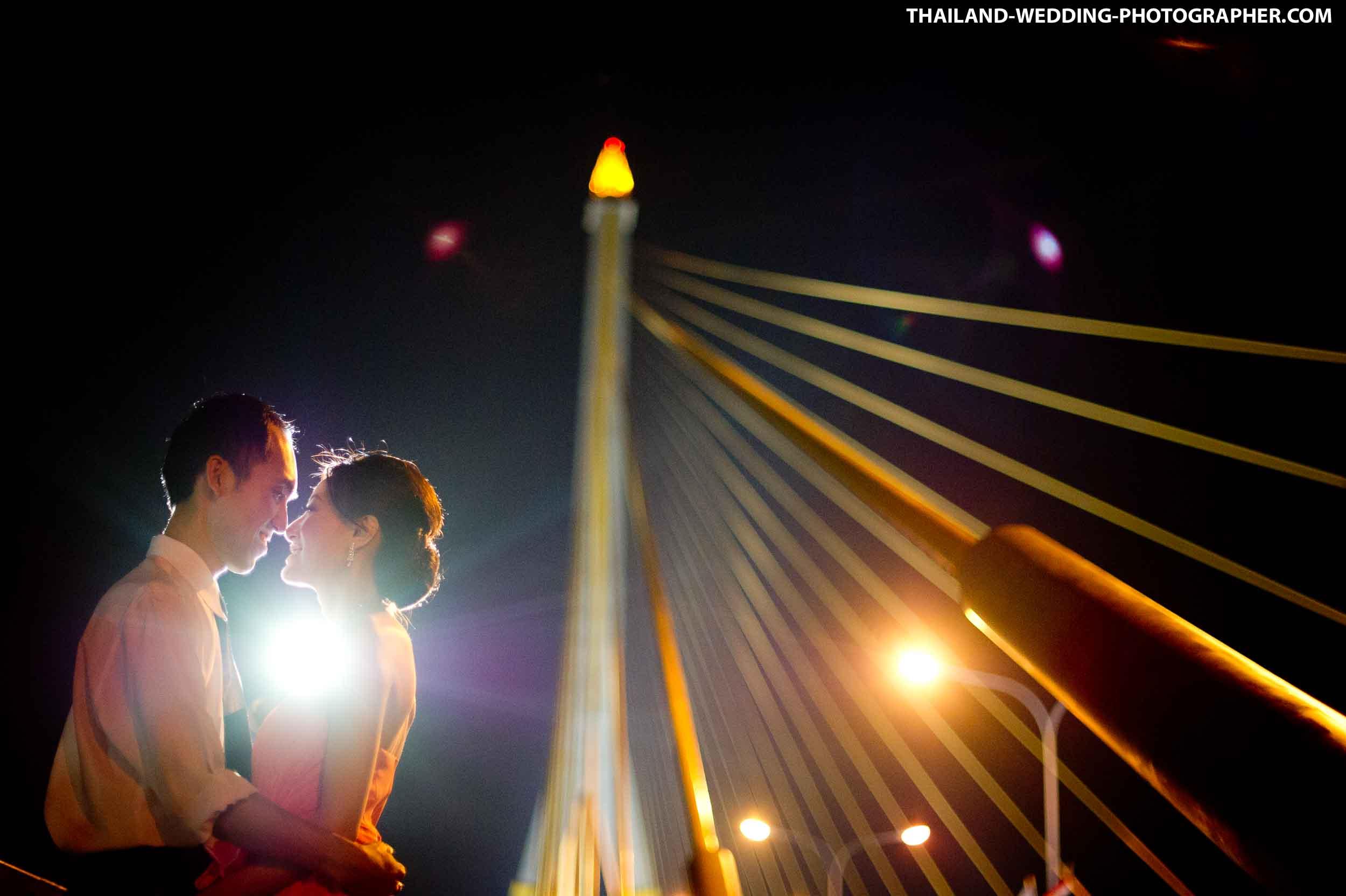 Rama VIII Bridge Bangkok Pre-Wedding Photography