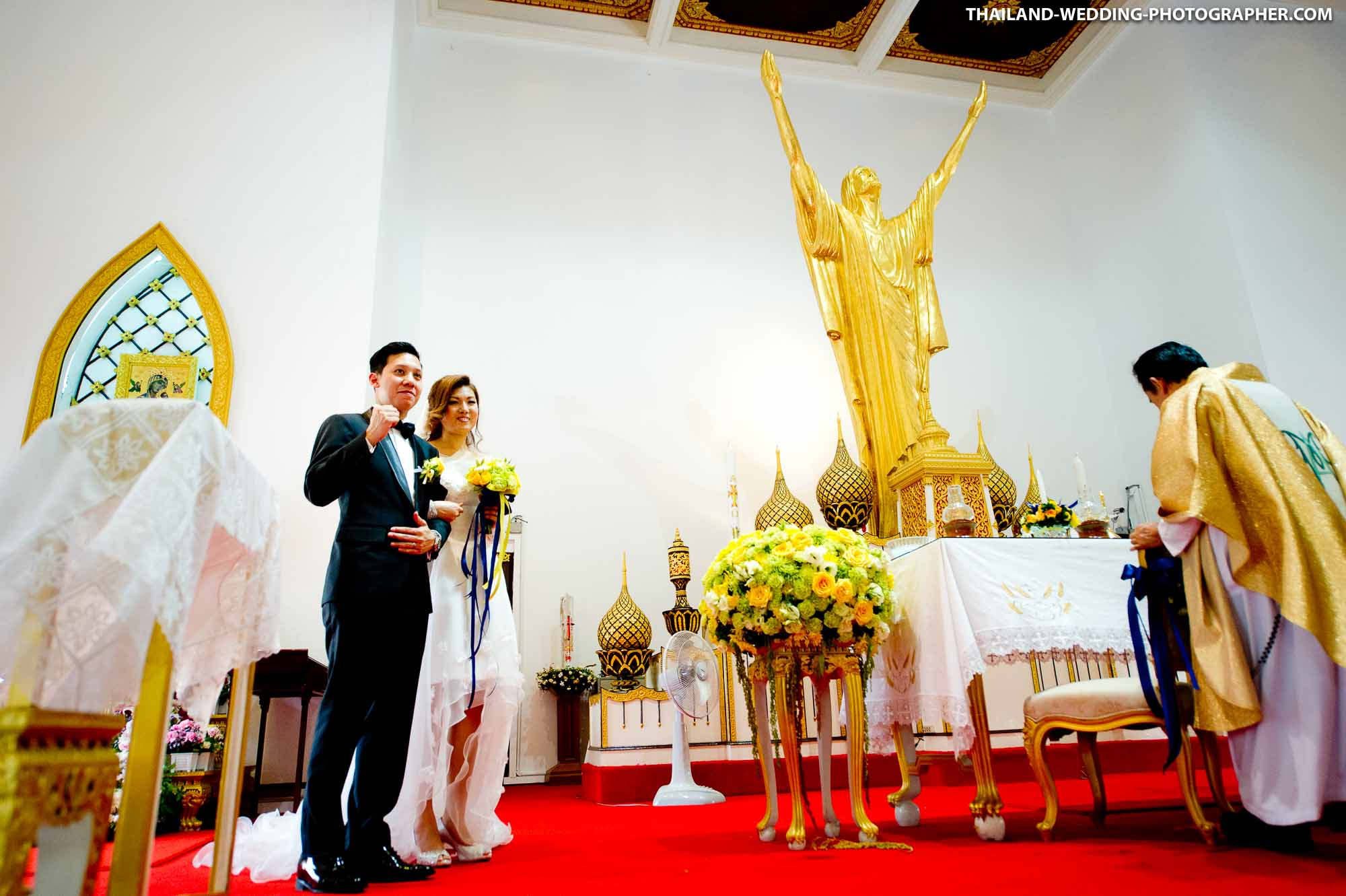 Holy Redeemer Church Bangkok Thailand Wedding Photography